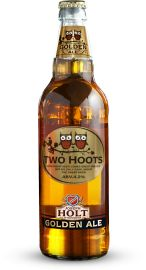 Two Hoots Golden Ale - Owl Beer Pinned by www.myowlbarn.com