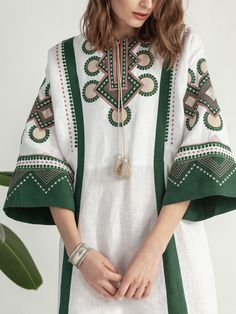 Buy ✔️ embroidered clothes for women ❤️ ukrainian ethnic clothing Iranian Women Fashion, Pakistani Fashion Casual, Arab Fashion, Pakistani Dress Design, Muslim Fashion, Ethnic Fashion, African Fashion, Stylish Dresses, Fashion Dresses