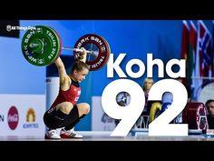 Rebeka Koha (53kg, Latvia, 18y/o) 92kg Snatch 2016 Junior World Weightlifting Championships - YouTube