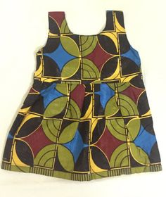 Baby dress 0 6 months by MissMilisfashion on Etsy Children Wear, Kids Wear, Ankara Styles, African Fashion, Baby Dress, 6 Months, Trending Outfits, Handmade Gifts, How To Wear