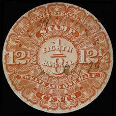 United States, Scott REA1a. 12 1/2c Orange, MC, PI, good color, some sm. faults, very well centered for this issue, Extremely Fine and attractive stamp Catalog value: 325.00  Dealer Aldrich Auction  Auction Starting Price: 150.00 US$