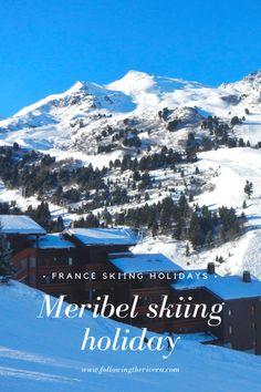 Meribel skiing holiday - plan your next France skiing holiday Holidays France, Ski Holidays, Backpacking Europe, Europe Travel Tips, Travel Guides, European Destination, European Travel, Amazing Destinations, Travel Destinations