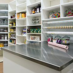 Inspired by our clients pantry to start Spring cleaning. #builtbyupland #utahhomes #pantry #getorganized #springcleaning #luxurylifestyle #complementyourlifestyle
