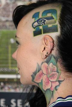 1000 images about seahawks tattoos on pinterest for Seattle sounders tattoo