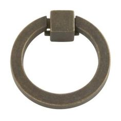 Hickory Hardware, Camarilla 2-1/16 in. Windover Antique Ring Pull, P3190-WOA at The Home Depot - Mobile