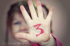 3rd birthday photography ideas
