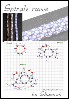 Russian spiral stitch