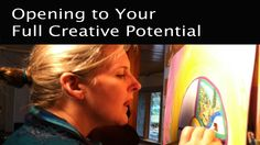 Intuitive Painting Process explained - a talk on opening to your full cr...