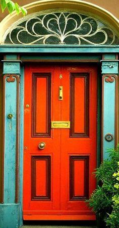 Doors of Latin America Orange Door