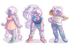 amethyst steven universe awya art love this blueberry muffin I ...