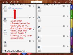 iDoceo Planner Demystified! - Mrs. Beattie's Classroom
