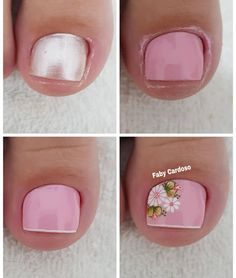 Manicure E Pedicure, Nail Art Hacks, Flirting Quotes, Toe Nails, Flower Art, Nail Designs, Close Up, Screwdriver Set, Summer