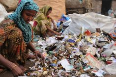 """A scene from Julia Waterhous's documentary project """"Don't Waste People,"""" about a waste-picker colony in New Delhi. Source: Don't Waste People"""