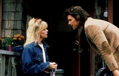 Pin for Later: 26 Real Couples Who Played Couples on Screen Goldie Hawn and Kurt Russell, Overboard