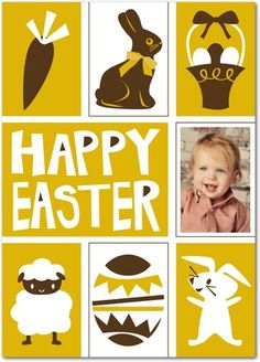 Personalized Easter greeting cards from treat.com