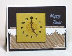 Happy Times card by Karen Motz