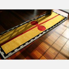 Fab.com   Prince Wool Rug 2'6x8'6 Yellow