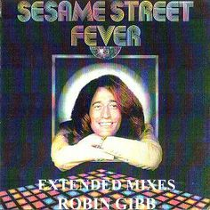 """Robin Gibb appears on the Sesame Street Fever album, and according to the LP's liner notes, """"appears courtesy of his children - Melissa and Spencer Gibb"""". The recording was released in the LP, cassette, and eight-track audio formats; it has never been commercially released on compact disc but is available to download on amazon, iTunes and file sharing sites. Singles of """"Sesame Street Fever""""/""""Trash"""" and """"Doin' the Pigeon"""" /""""Rubber Duckie"""" were released as promotional items."""