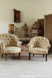 Shabby Stoeltjes/ Shabby chairs