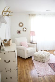 Whimsical, Bohemian Girl's Nursery