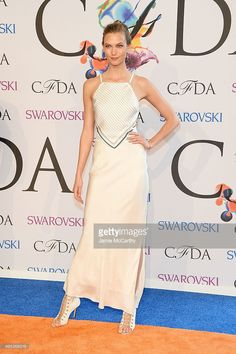 Model Karlie Kloss attends the 2014 CFDA fashion awards at Alice Tully Hall, Lincoln Center on June 2, 2014 in New York City.