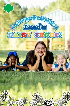 Did your Daisy troop register earlier in the year, but you haven't had time to meet yet? Do you have a brand-new Daisy troop that just signed up and is…Read On!Change the World: Lead a Daisy Troop! Girl Scout Leader, Daisy Girl Scouts, Volunteers, Change The World, Daisies, Troops, River, Activities, Couple Photos