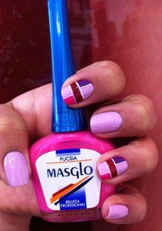 Excelente diseño realizado con varios colores MASGLO.