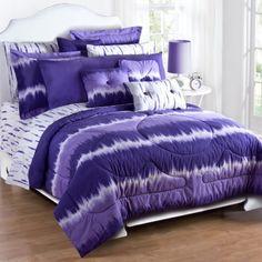 purple tie dye bedding set for girls purple bedroom ideas from Girls Bedding Sets PurpleGirls Bedding Sets Purple - The Purple Bedspread, Purple Bedding Sets, Bedroom Comforter Sets, Teen Bedding, Twin Comforter, Purple Comforter, Draps Design, Tie Dye Sheets, Tie Dye Bedding