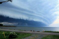 Severe thunderstorm Kouchiboquac n.p. NB