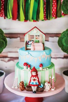 Roodkapje taart ♥