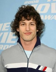 25 Best Curly Haircuts for Men Best Curly Haircuts, Cool Mens Haircuts, Celebrity Hairstyles, Andy Samberg, Pregnant Man, Fringe Haircut, Hair Reference, Curly Hair Cuts, Gorgeous Men