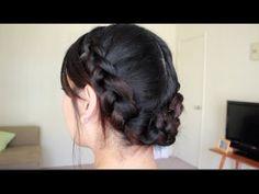 ▶ Summer Dutch Braid Hairstyle- JaaackJack - YouTube