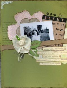 8.5x11 layout with strip journalling and bingo card
