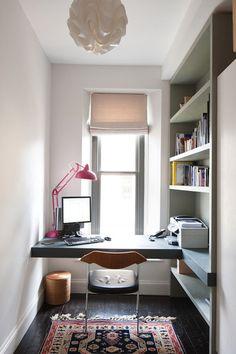 pequenos espaços escritório