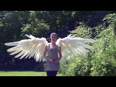 The Crooked Feather pneumatic articulating wings - YouTube. Spectacular!