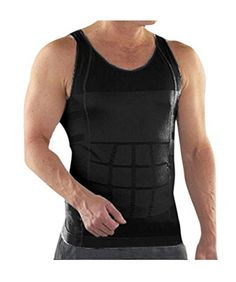 dfea055655 TopTie Mens Slimming Body Shaper Vest Shirt Abs Abdomen Slim TopTie men s  shape wear vest abdomen control undershirt would be a great option if you  wish to