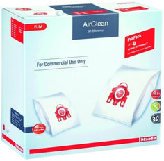 4 Pack Miele Vacuum AirClean HEPA Filtration Bags Style GN