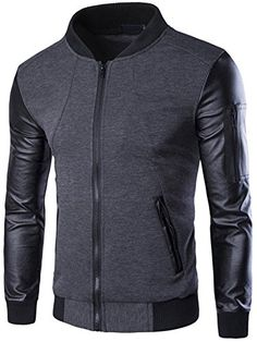 Neleus Men's Leather Sleeves Slim Fit Varsity Jacket,221,... https://www.amazon.com/dp/B01LQ61J5G/ref=cm_sw_r_pi_dp_x_olg7xbK231SJA