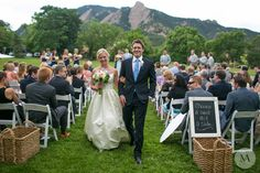 Wedding At Chautauqua In Boulder Colorado