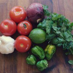 Scotch Bonnet fiery chilli salsa rceipe