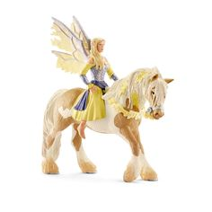 Schleich 70402 Sera Figurine - World Of Fantasy Bayala - B - Elf On Horse / New