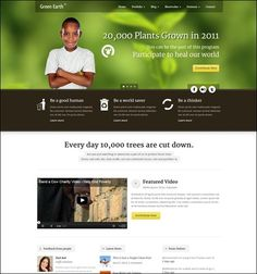 If you need to build a website for an eco-friendly organization or business, then you have to check out these WordPress themes. All of these WordPress themes are designed for green and eco-friendl… Responsive Layout, Green Earth, Wordpress Template, Be A Nice Human, Premium Wordpress Themes, Non Profit, Eco Friendly, Environment, Web Design