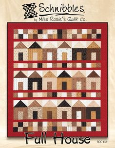 Schnibbles Full House Quilt Pattern by  Miss by QuiltEssentials