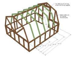 Ana White Build a Barn Greenhouse Free and Easy DIY Project and Furniture Plans Greenhouse Panels, Diy Greenhouse Plans, Greenhouse Effect, Indoor Greenhouse, Backyard Greenhouse, Small Greenhouse, Greenhouse Wedding, Portable Greenhouse, Homemade Greenhouse