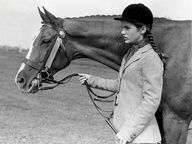 A Young Jackie (Kennedy)with her horse