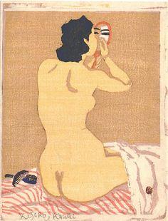 Woodcut Kijiro Kawai ca. 1940s