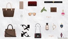 2016 Louis Vuitton Christmas Gift Guide For Her #ChristmasGiftIdeas #louisvuitton  #Fashion #Luxury