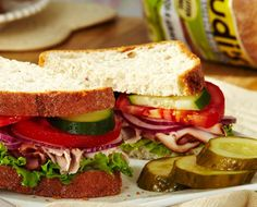 Udi's actually makes the best gluten free bread. also when's lunchtime? Best Gluten Free Bread, Gluten Free Grains, Gluten Free Recipes, Jack Food, Always Hungry, Vegan Foods, Grain Free, Free Food, Meals