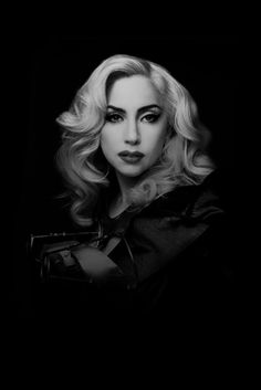 Lady Gaga (born Stefani Joanne Angelina Germanotta, 1986) - American singer and songwriter. Photo by Marco Grob