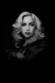 Lady Gaga (born Stefani Joanne Angelina Germanotta, 1986) - American singer and songwriter. Photo by Marco Grob